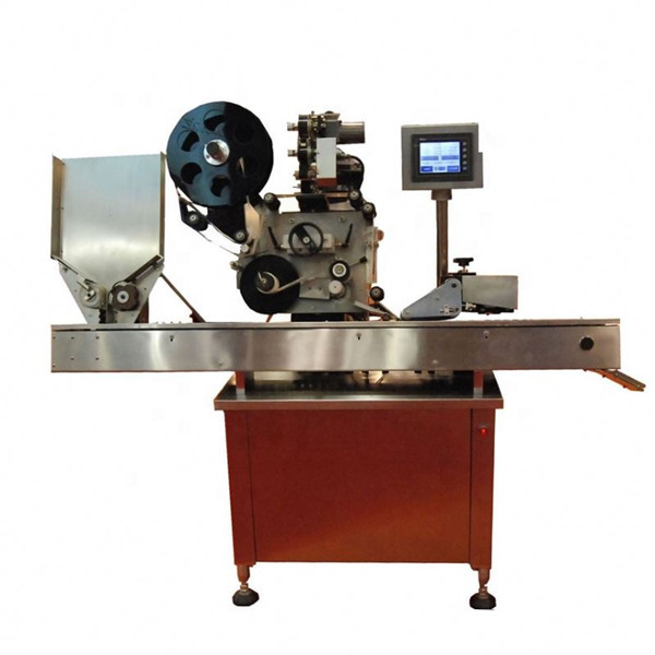 Etiketovací stroj na lahvičky s kulatou lahví o objemu 10–50 ml na kosmetické rtěnky