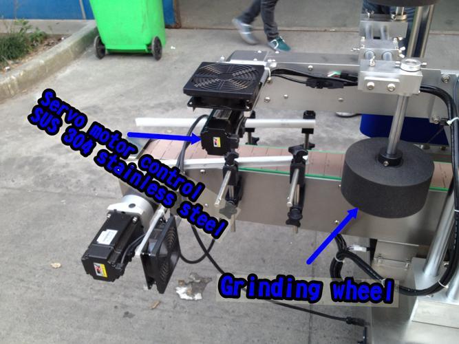 Horizontální malý etiketovací stroj / automatický aplikátor etiket