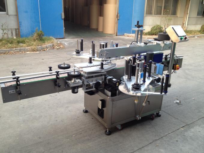 Stroj na nanášení etiket na lepidlo za studena a mokra pro kulatou láhev 50 Hz 380 V napájecí zdroj