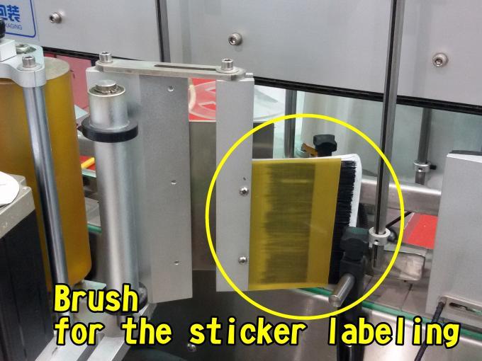Plochý automatický etiketovací stroj na sáčky Factory High Speed 60 - 350 ks / min