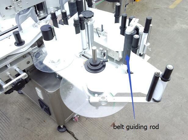 Automatický oboustranný štítkovací stroj s točnou a detekcí kouzelného oka