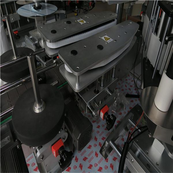 Samolepící kosmetický stroj na označování hranatých lahví o hmotnosti 600 kg