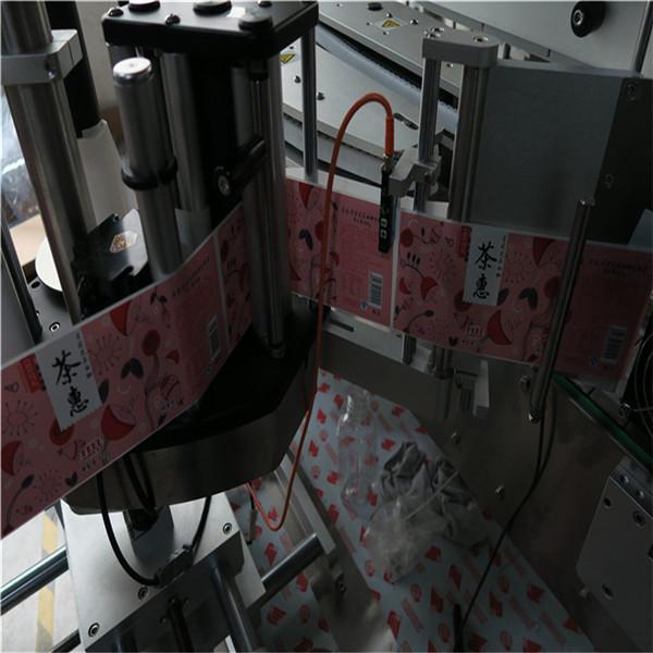 Automatický etiketovací stroj na hranaté a kulaté lahve 50HZ 2300W Napájecí systém