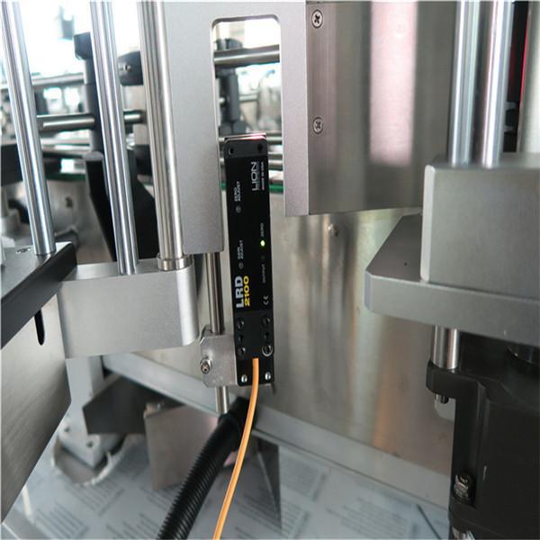 Automatický etiketovací stroj na lahve Rond pro nápoje / denní chemikálie