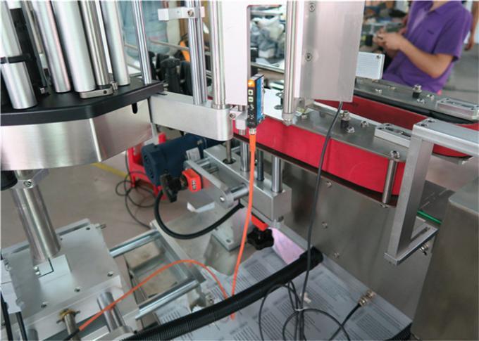 Štítkovací stroj na štítky s kulatou lahví s importovaným vysoce přesným kouzelným okem