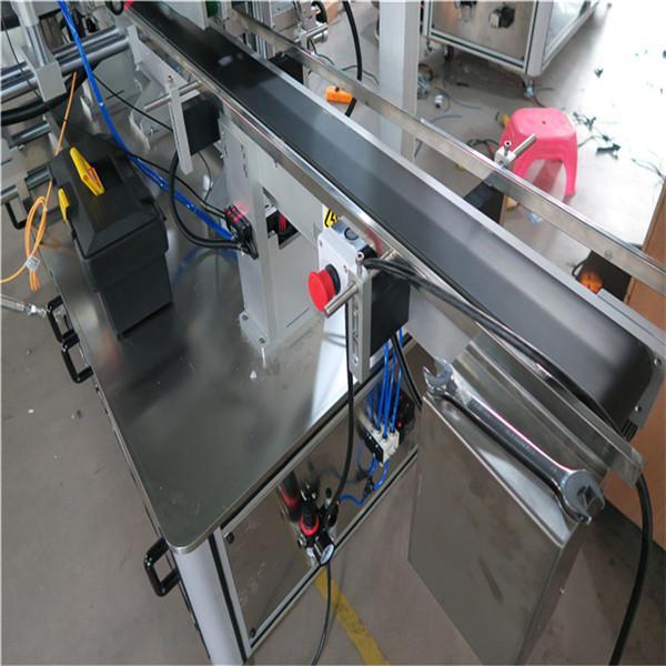 Plně automatický stroj na etiketování čtvercových lahví kolem 3000-5000B / H