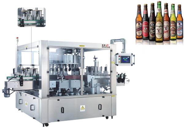 Umístění tří tváří aAutomatic Labeling Machine Rotating System Machinery