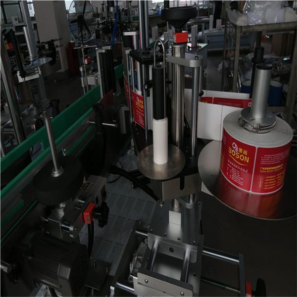 Stroj na označování oválných lahví, šampon aplikátoru štítků štítků a etiketovací prostředek na prací prostředky