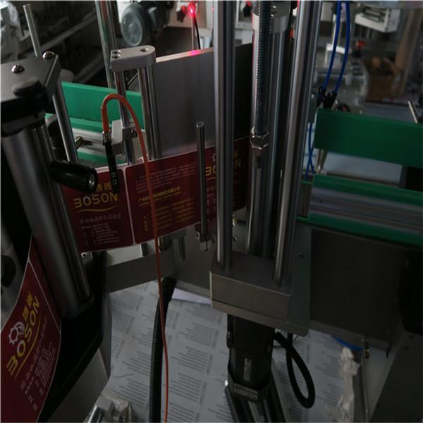 Jednostranný oválný aplikátor etiket na lahve, samolepicí etiketovací stroj