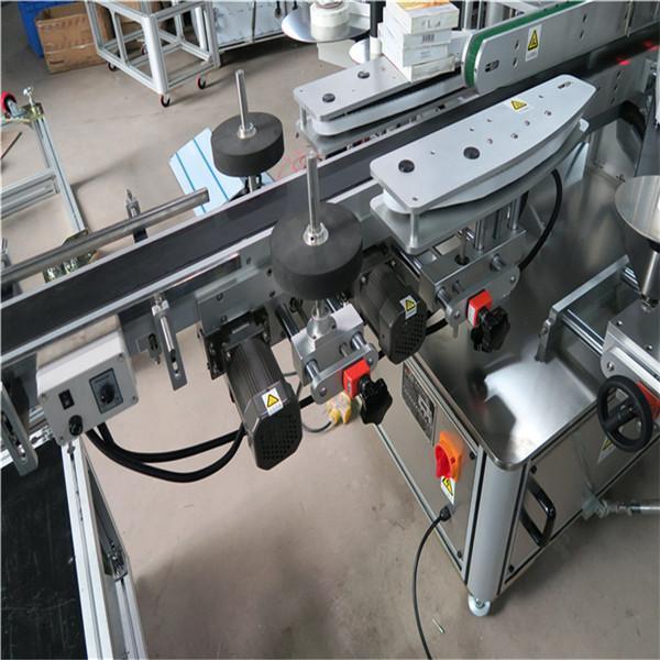 Stroj na označování lahví vína Oboustranný elektrický řidič Chile Santa Maria