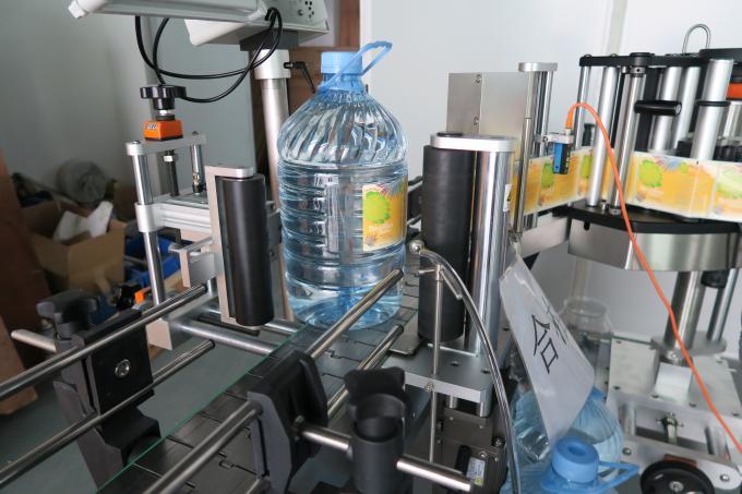 5L popisovač etiket s kulatou lahví na pitnou vodu, samolepicí etiketovací stroj