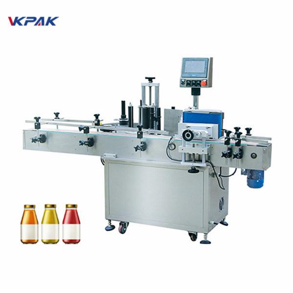 5L etiketovací stroj na kulaté lahve s pitnou vodou