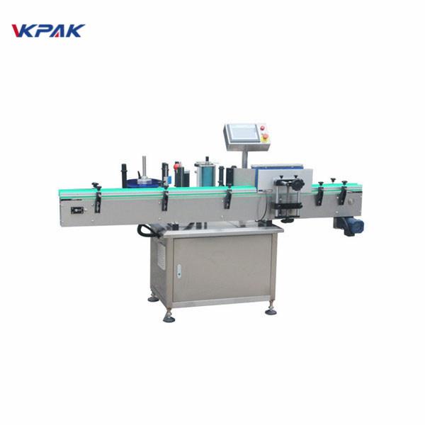 Všechny druhy automatických etiketovacích strojů s kulatými lahvemi a kódovacím strojem