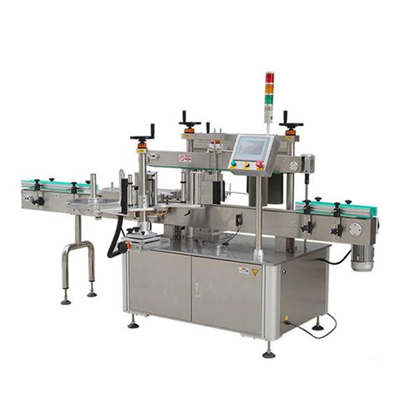 Automatický etiketovací stroj na kulaté lahve s tiskárnou dat