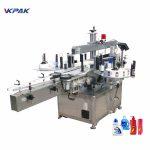 Stroje na označování lahví s vertikálním detergentem s automatickým sirupem s pevným bodem