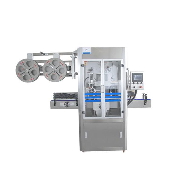 Stroj na nanášení smršťovacích pouzder z nerezové oceli s parním generátorem