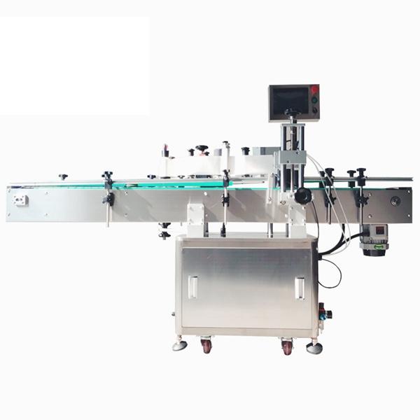 Kosmetický samolepicí automatický štítkovací stroj na lahve pro domácí mazlíčky