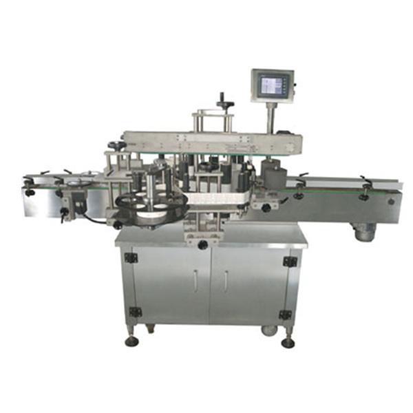 Oboustranný automatický štítkovací štítkovací stroj