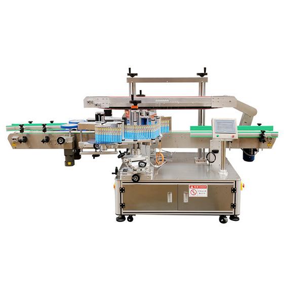 Oboustranný obal kolem etiketovacího stroje