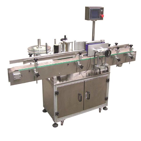 Flexibilní automatický štítkovací štítkovací stroj s oboustrannými papírovými taškami