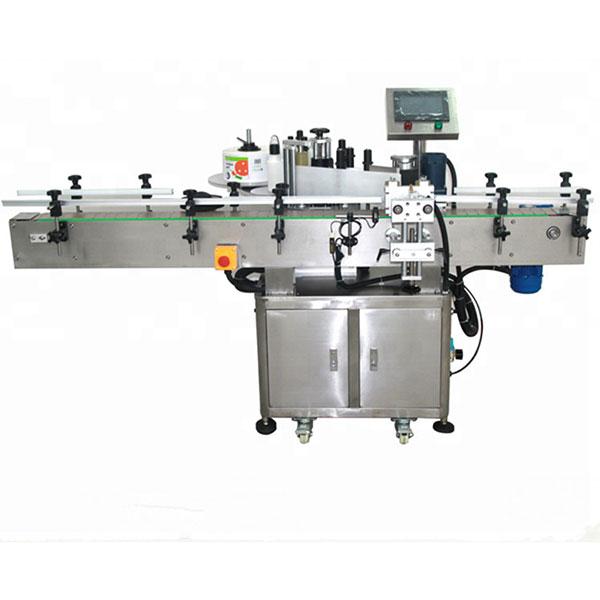 Přední a zadní etiketovací stroj, vysokorychlostní etiketovací stroje o hmotnosti 580 kg