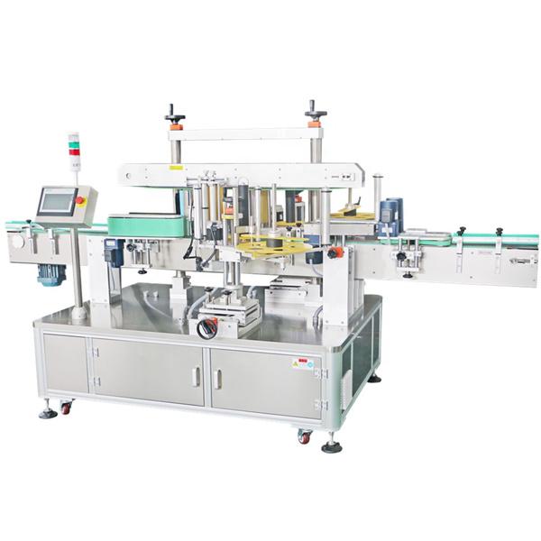 Přední a věžový dvojitý ovinovací kulatý etiketovací stroj