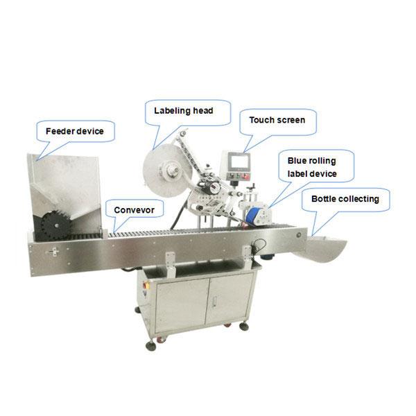 Plně automatický stroj na nanášení etiket na lahve s certifikátem CE
