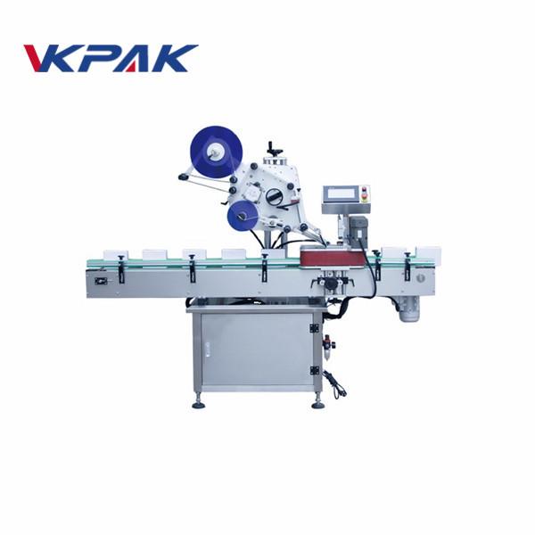 Plně automatický horní štítkovací stroj pro označování plastových prázdných obálek