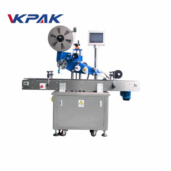 GMP elektrický plochý automatický štítkovací štítkovací stroj pro rovinnou láhev