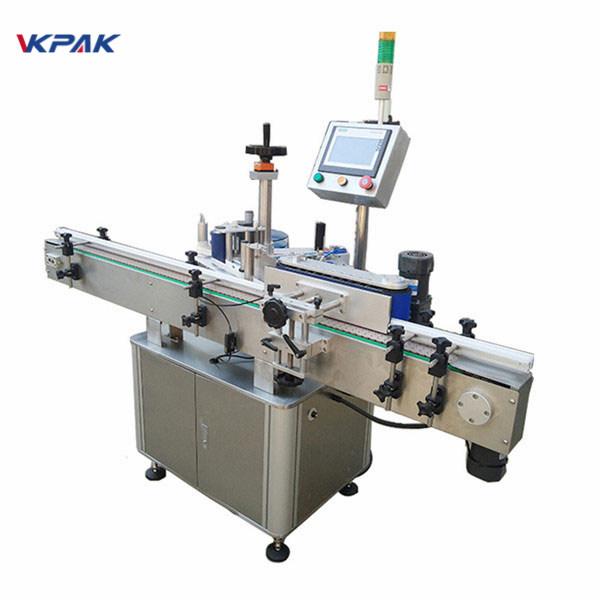 Vysokorychlostní etiketovací stroj na kulaté lahve pro automatické mléčné výrobky a džusy