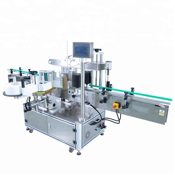 Vysokorychlostní štítkovací stroj na kulaté lahve pro nepravidelné nádoby