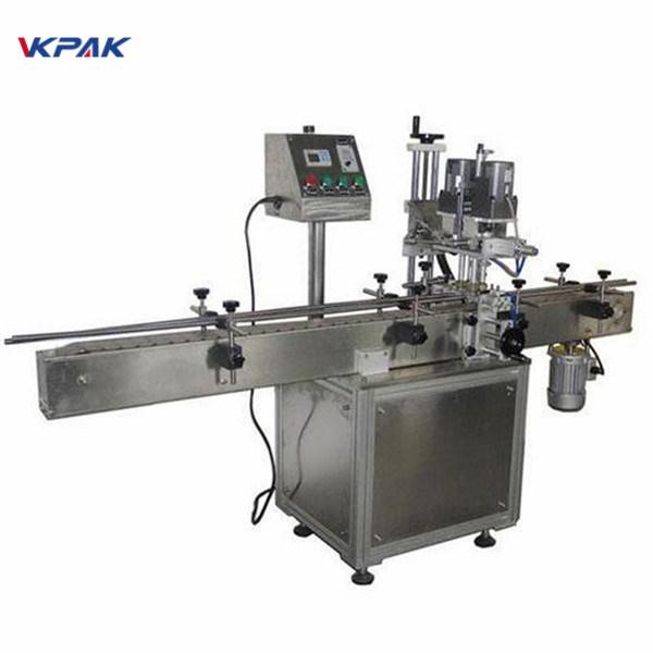 Průmyslový oboustranný stroj na označování kulatých lahví pro kosmetické výrobky