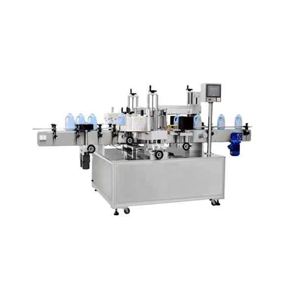 Multifunkční stroj na označování hranatých lahví