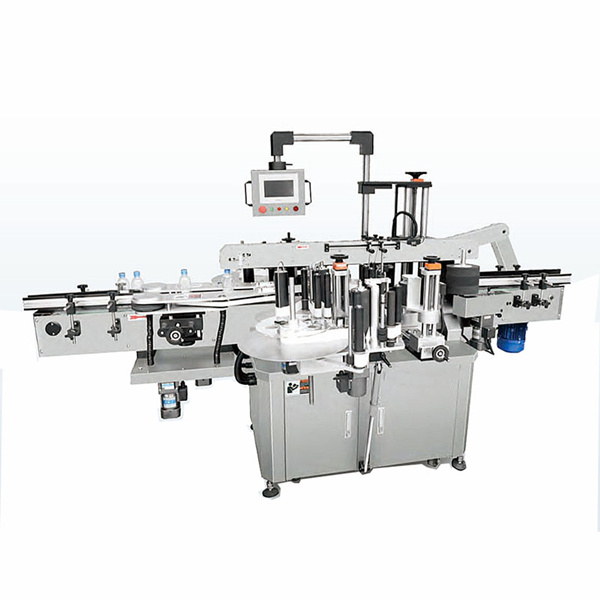 Stroj na označování oválných lahví