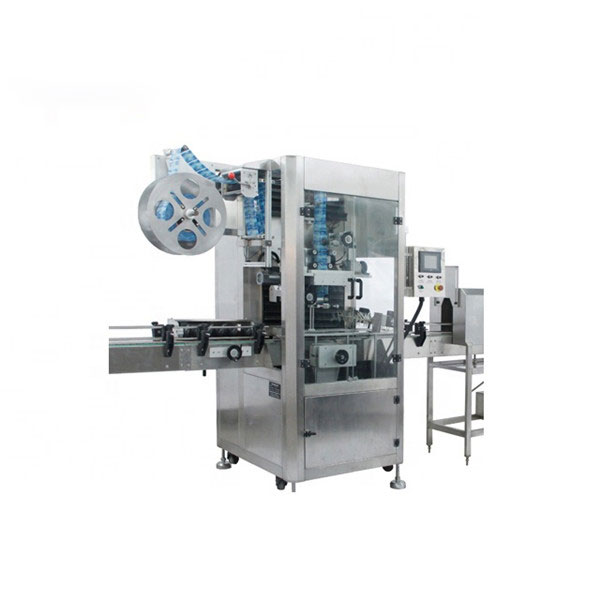 Stroj na nanášení smršťovacích fólií z PVC Plně automatický stroj na smršťování štítků