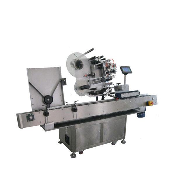 Stroj na označování štítků lahviček pro farmaceutický průmysl