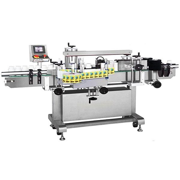 Profesionální oboustranný štítkovací štítkovací stroj s kolekcí pracovního stolu