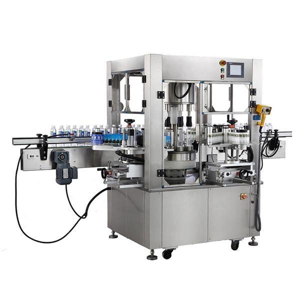 Kulatá láhev Rotační samolepka Etiketovací strojní zařízení Tloušťka
