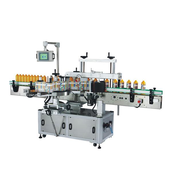 Samolepicí etiketovací stroj vpředu i vzadu