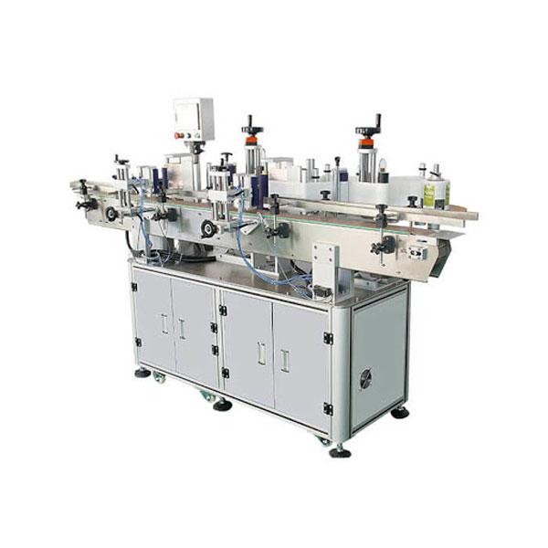 Šamponovací štítkovací stroj na štítky na lahve 30-100 mm délka kontejneru