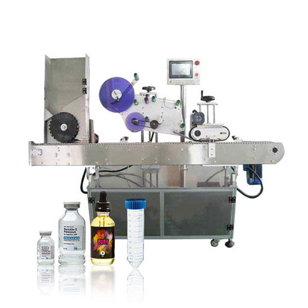 Automatický vodorovný etiketovací stroj Siemens Plc Vial Servo Controller