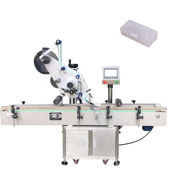 Jednostranný čtvercový stroj na označování lahví