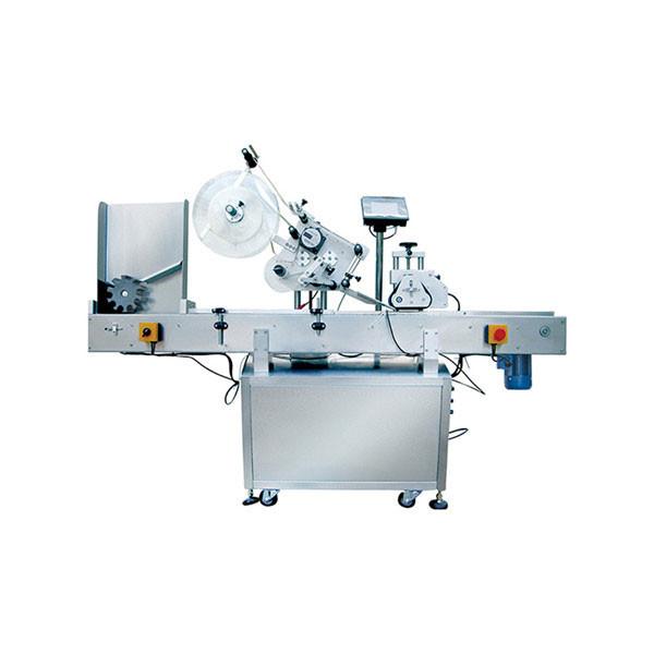 Stroj na označování malých plastových lahví, stroj na štítky na lahve s penicilinem