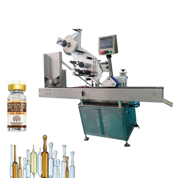 Štítkovací etiketovací stroj na lahvičky s malou kulatou lahví pro 10ml lahvičku