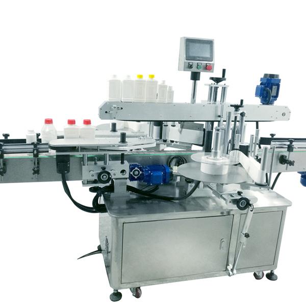 Stroj na označování čtvercových lahví
