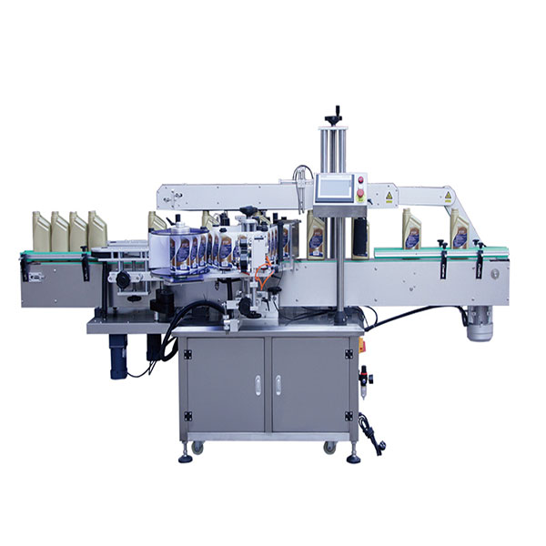 Stroj na označování hranatých lahví