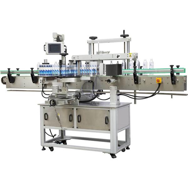 Čtvercový obal kolem etiketovacího stroje
