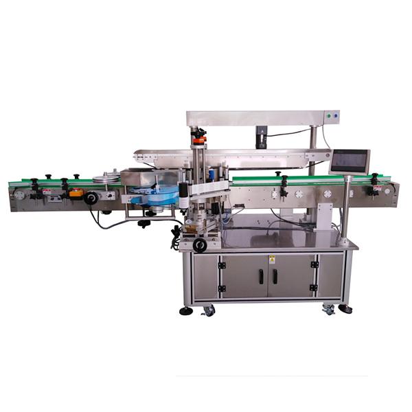 Samolepicí etiketovací stroj se třemi štítky