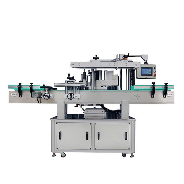 Tři lineární samolepicí etiketovací stroje