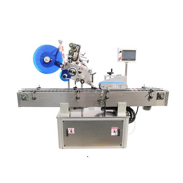 Horní a oboustranný etiketovací stroj